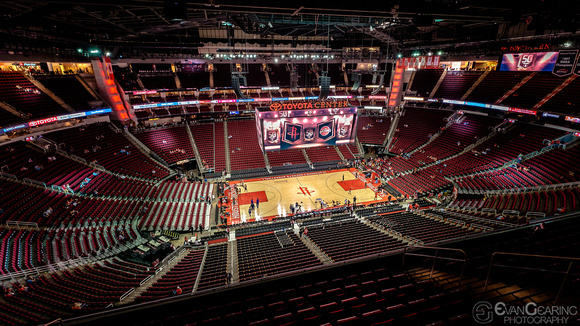 Toyota Center Interior